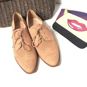 Madewell | Belinda Perforated Loafer Women Shoes 9